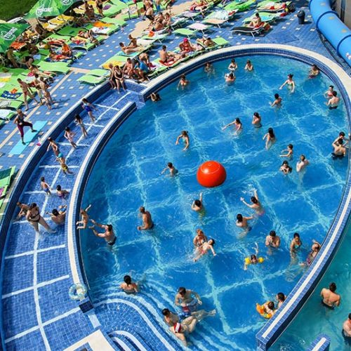 Aqua park - hotel President v Baile Felix | Zdroj: CK KM