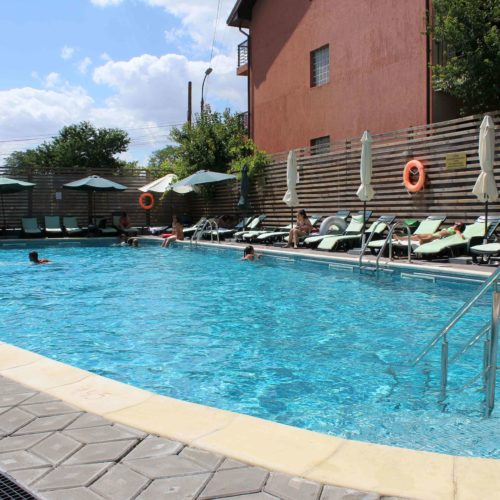 Bazén hotelu Fortuna | Zdroj: CK KM