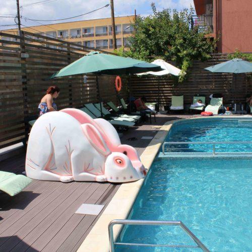 Bazén hotelu Fortuna - Eforie Nord | Zdroj: CK KM