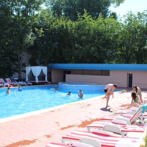 Bazén hotelu Union | Zdroj: CK KM