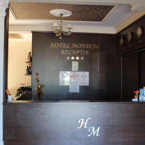 Hotel Mondial v Eforii Nord- recepce | Zdroj: CK KM