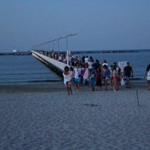 Molo na pláži v letovisku Mamaia | Zdroj: CK KM