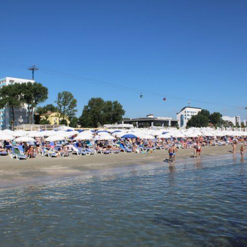 Pláž a moře Mamaia | Zdroj: CK KM