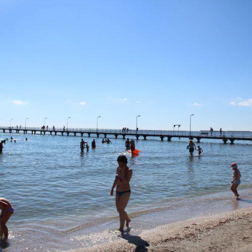 Pláž v Mamaii | Zdroj: CK KM