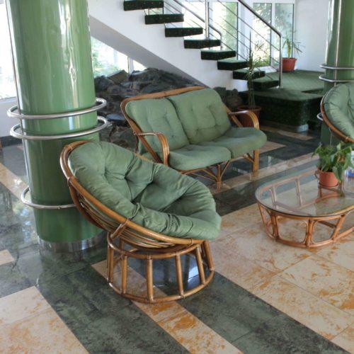 Recepce hotelu Central v Mamaie | Zdroj: CK KM