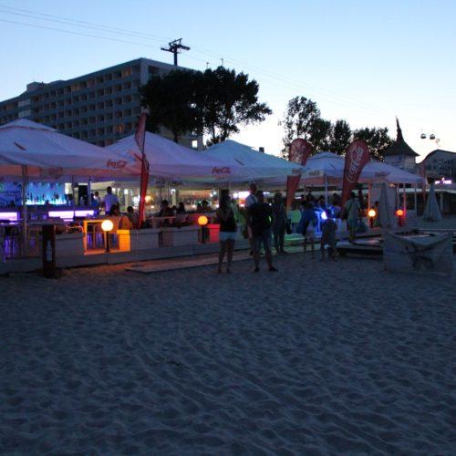 Restaurace na pláži v letovisku Mamaia | Zdroj: CK KM