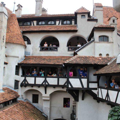 Balkony hradu Bran | Zdroj: CK KM
