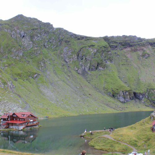 Jezero na vrcholku Transfagarasan | Zdroj: CK KM