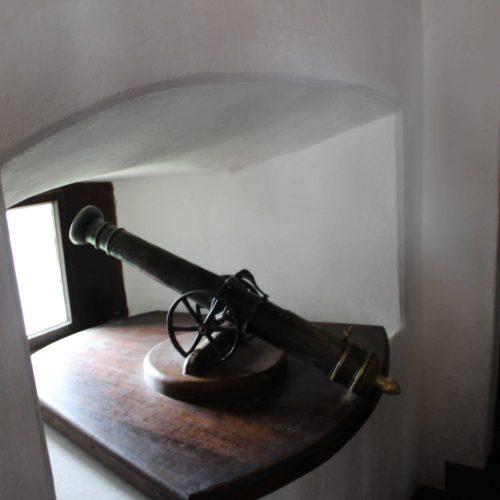 Model kanonu - hrad Bran | Zdroj: CK KM