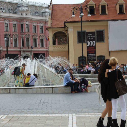 Náměstí v Brašově | Zdroj: CK KM