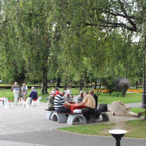 Park v Brasove | Zdroj: CK KM