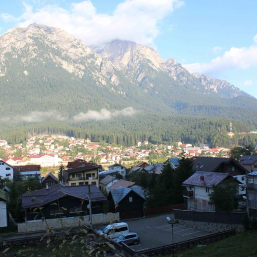 Vyhled na pohori Bucegi z hotelu | Zdroj: CK KM