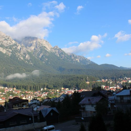 Vyhled z hotelu na pohori Bucegi | Zdroj: CK KM