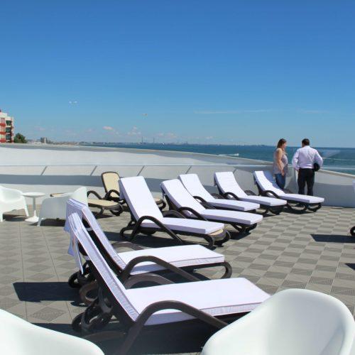 Vyhled ze strechy hotelu Zenith | Zdroj: CK KM