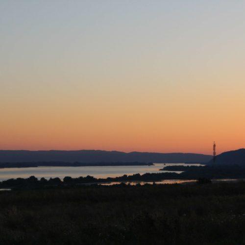 Zapad slunce u Dunaje | Zdroj: CK KM