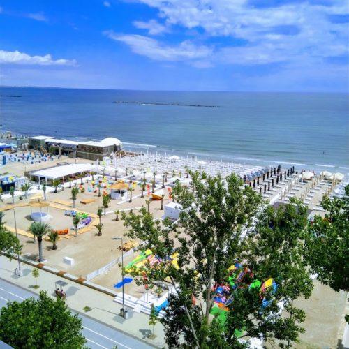 Letní pláž v Mamaii v roce 2018 | Zdroj: CK KM
