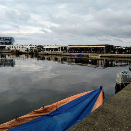 Lode v pristavu v Constante