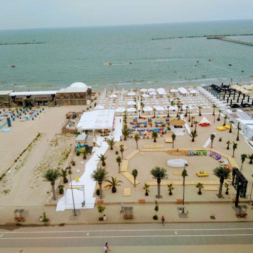 Vyhled na plaz v Mamaii z gondoly | Zdroj: CK KM