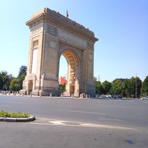 Vítězný oblouk - Bukurešť| Zdroj: CK KM