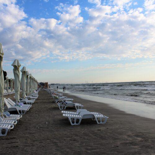 Pláž Mamaia v Rumunsku v roce 2020 | Zdroj: CK KM